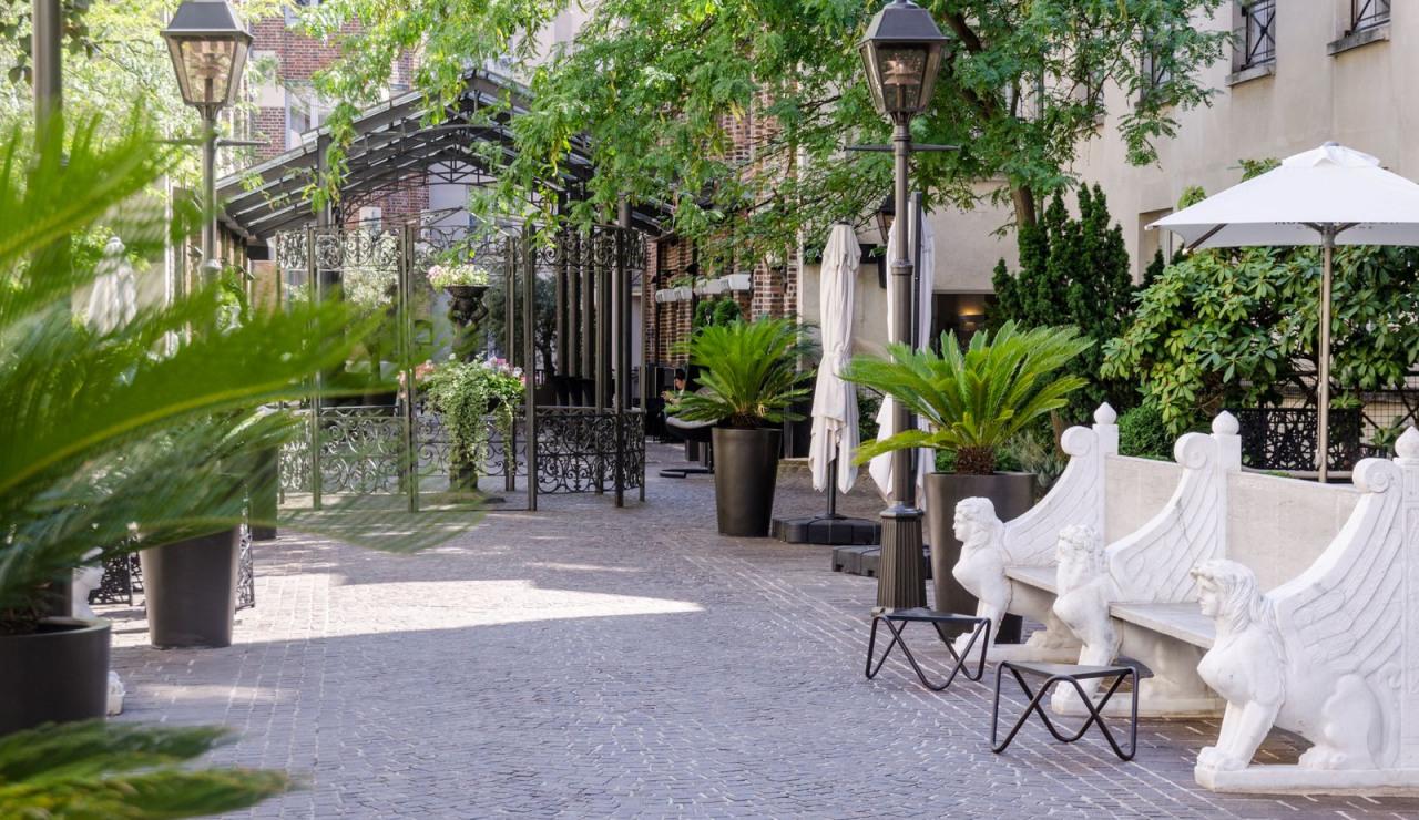 The Jardins Du Marais Paris **** A Gate Collection Hotel | 4 ... avec Jardin Du Marais Hotel Paris
