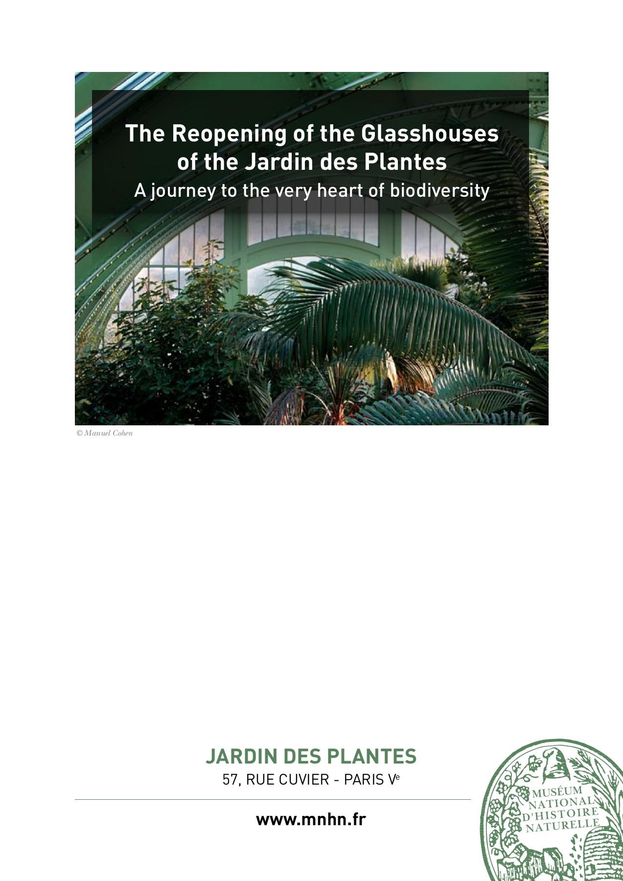 The Reopening Of The Glasshouses Of The Jardin Des Plantes ... à Serre De Jardin Amazon