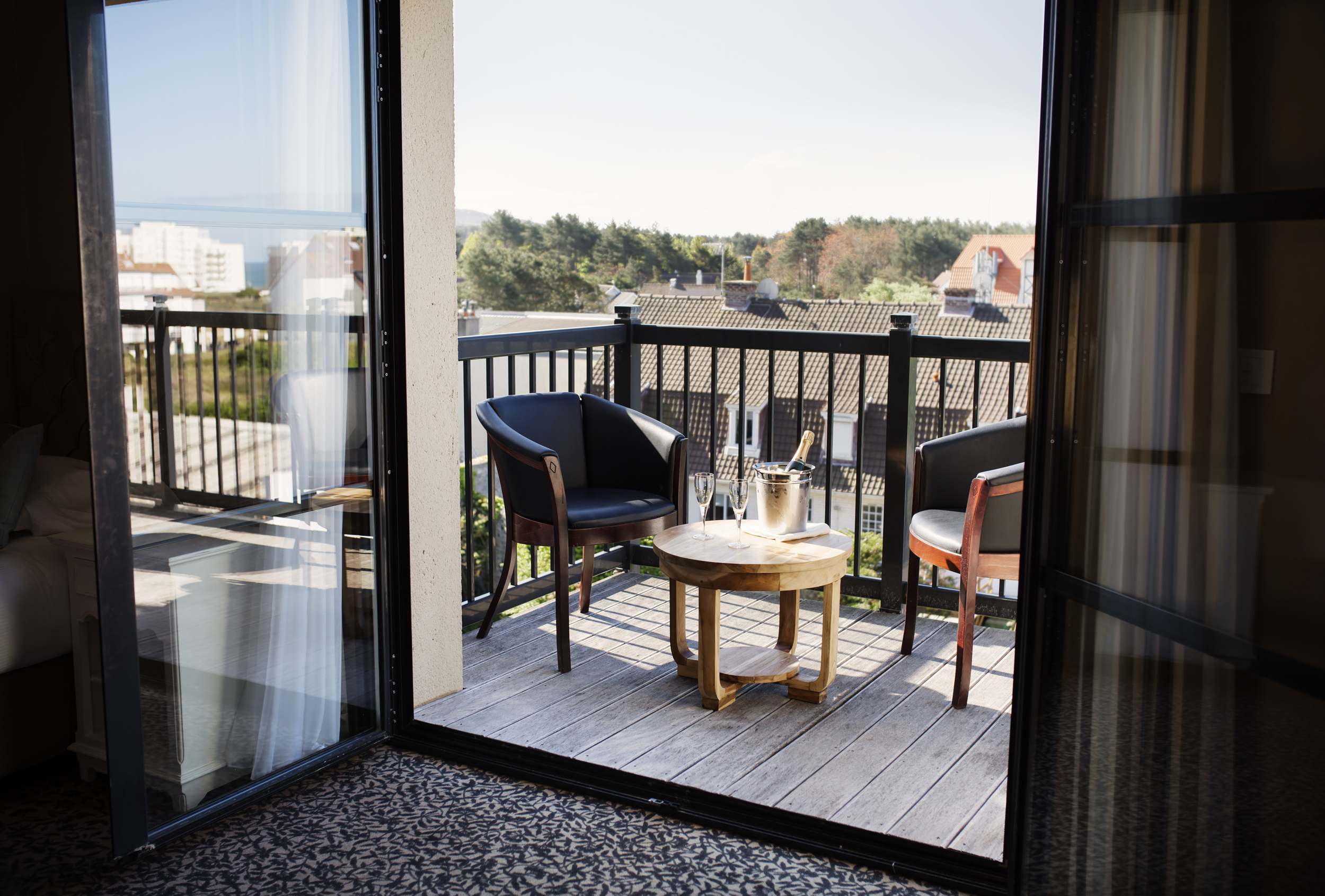 The Triple Balcony - Hotel Les Jardins D'hardelot - Côte D'opale à Jardin Hardelot