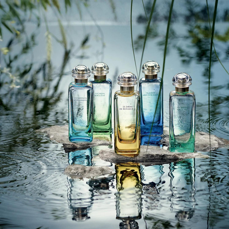 The Twisted Logic Of Hermès Un Jardin Sur La Lagune ... destiné Malle De Jardin