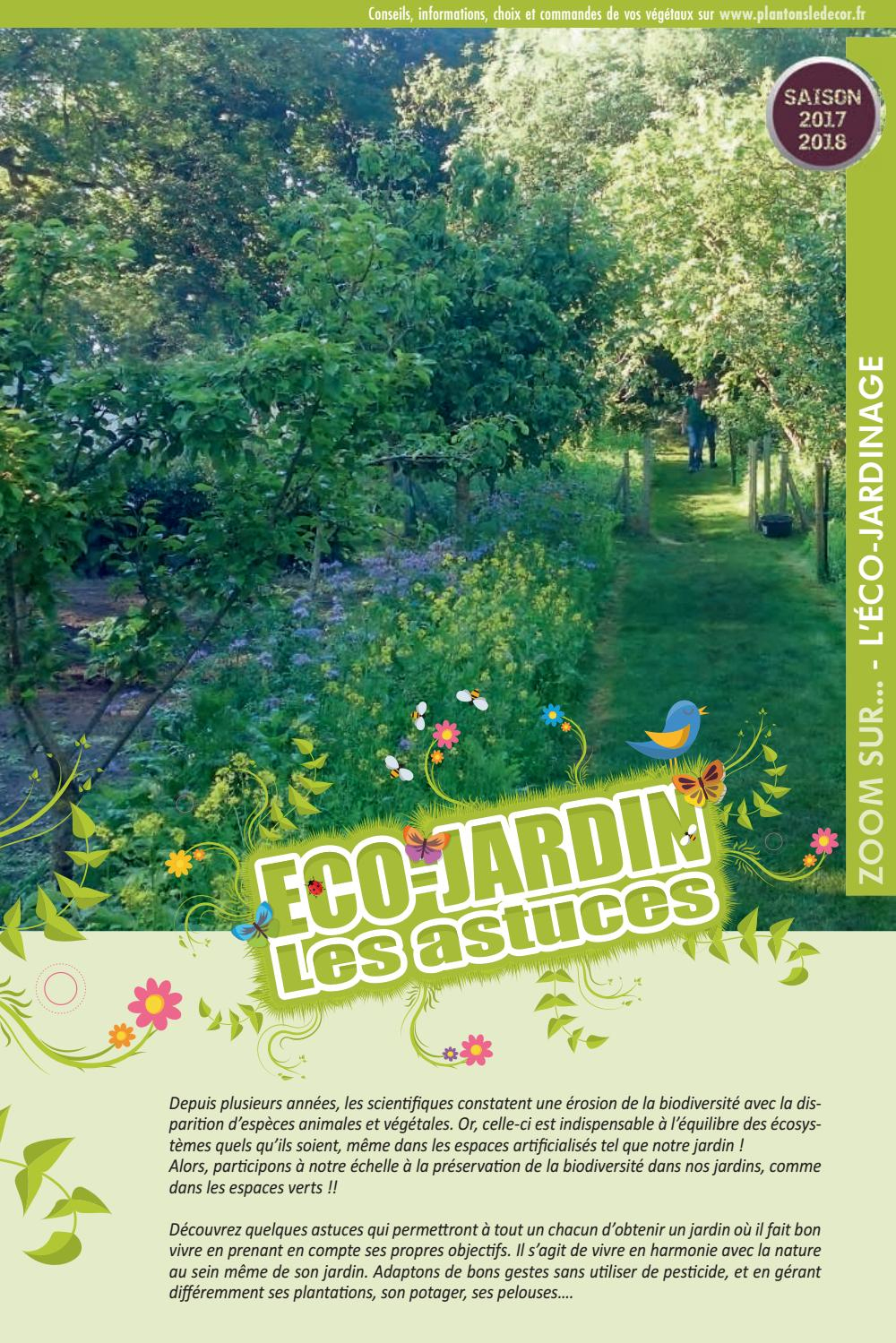 Thème Pld 2017-2018. Eco-Jardin Les Astuces By Espaces ... à La Potasse Au Jardin
