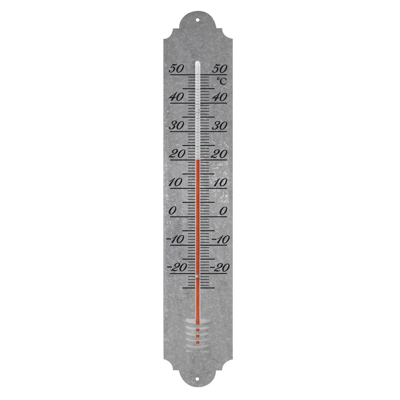 Thermomètre Analogique Dextérieur En Plastique Xclou ... tout Thermometre De Jardin