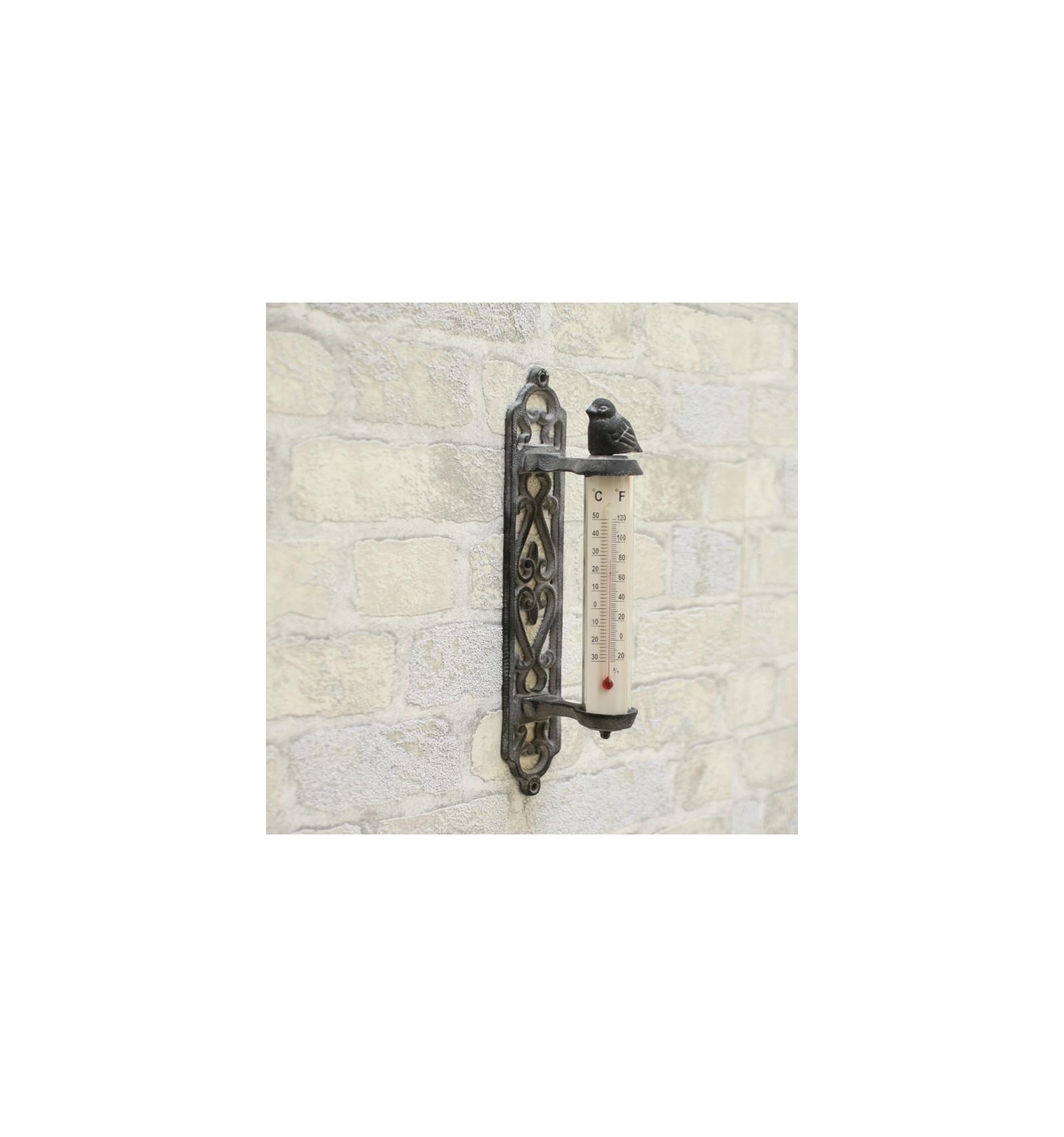 Thermomètre Mural De Porte Jardin Dextérieur 27 Cm Jardin ... serapportantà Thermometre De Jardin