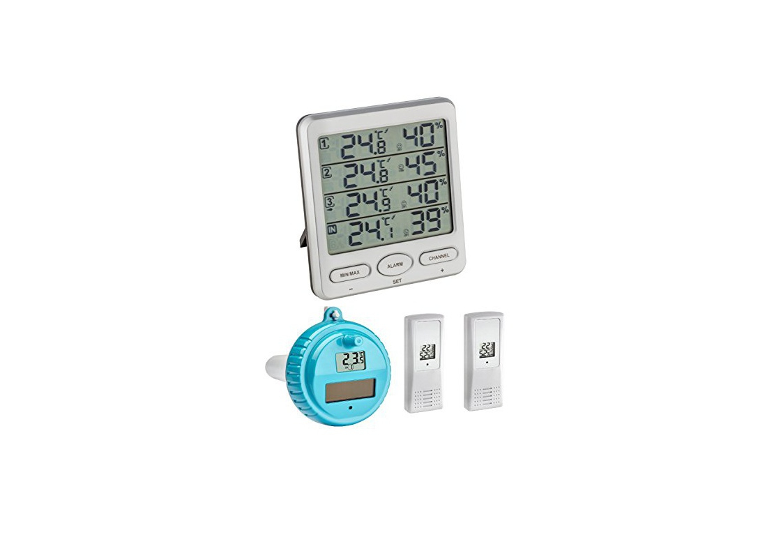 Thermomètres Et Instruments Météorologiques Hygromètres ... serapportantà Thermometre De Jardin