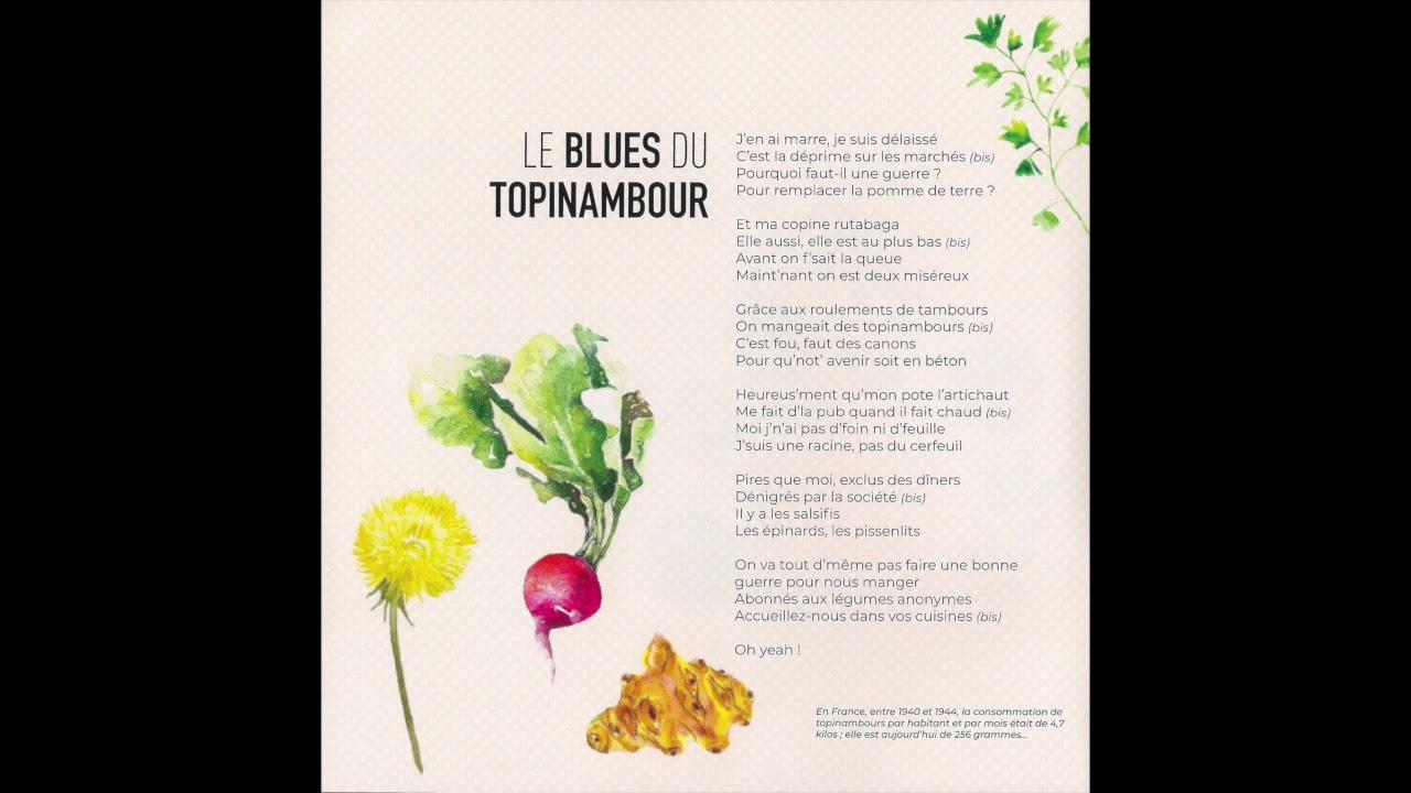 Thibaud Mauduech Le Blues Du Topinambour Ballades Au Jardin dedans Bonne Terre Pour Jardin