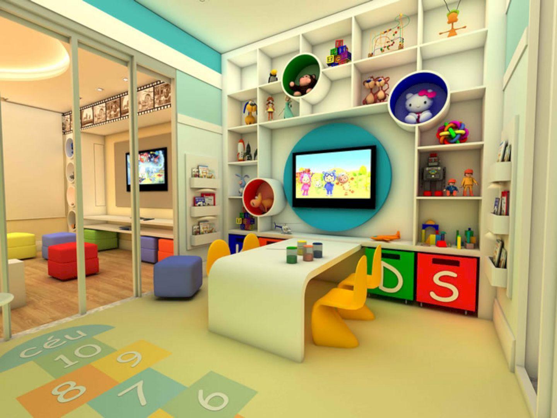 Things To Consider Before Making Kids Playground Design ... dedans Maison Bebe Jardin