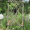This Is A Willow Arbor I Made For A Clematis | Déco Jardin ... avec Tonelle De Jardin