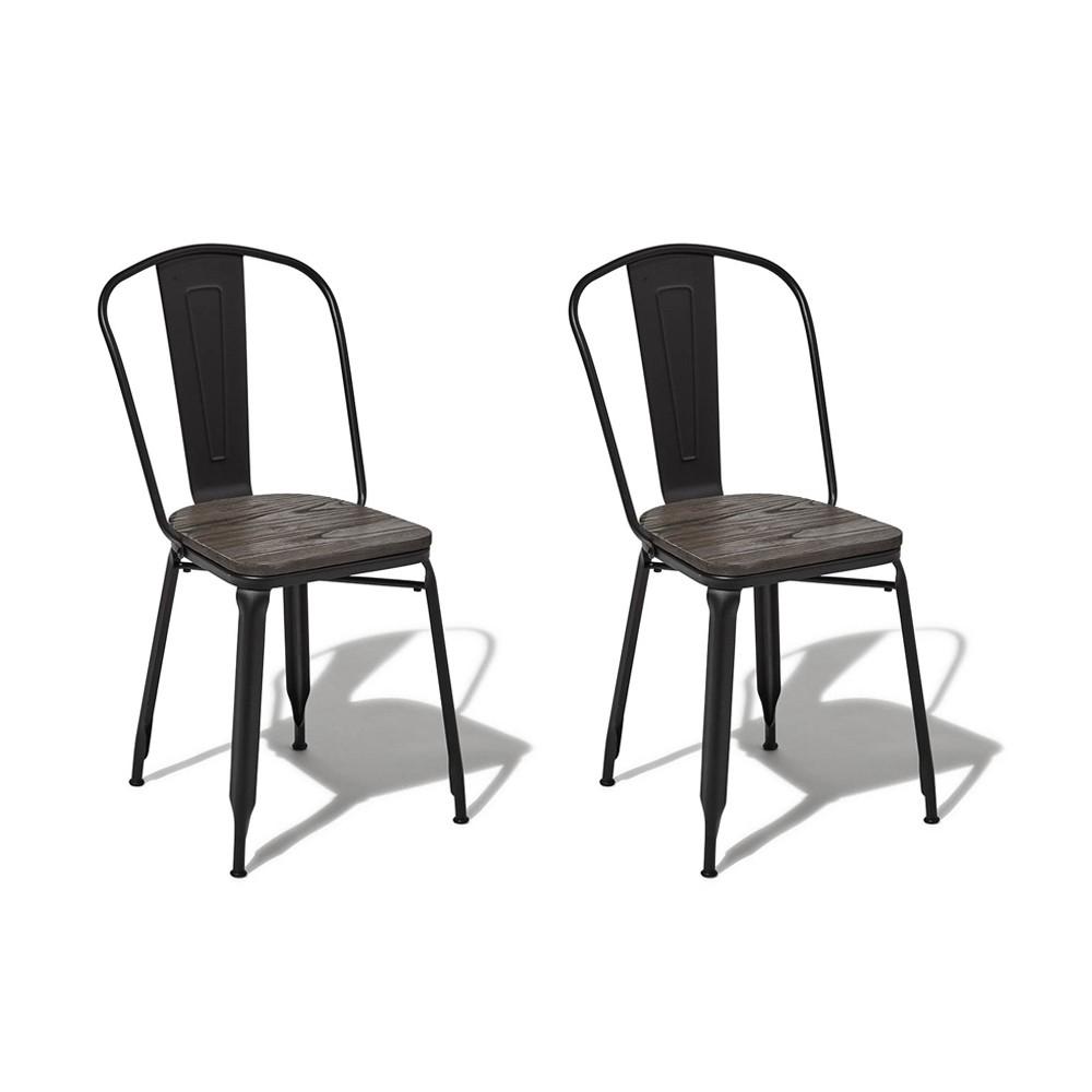 Timothy Chaise Noire 2Gifi X Chaise 0Vn8Omwn destiné Salon De Jardin Résine Tressée Gifi