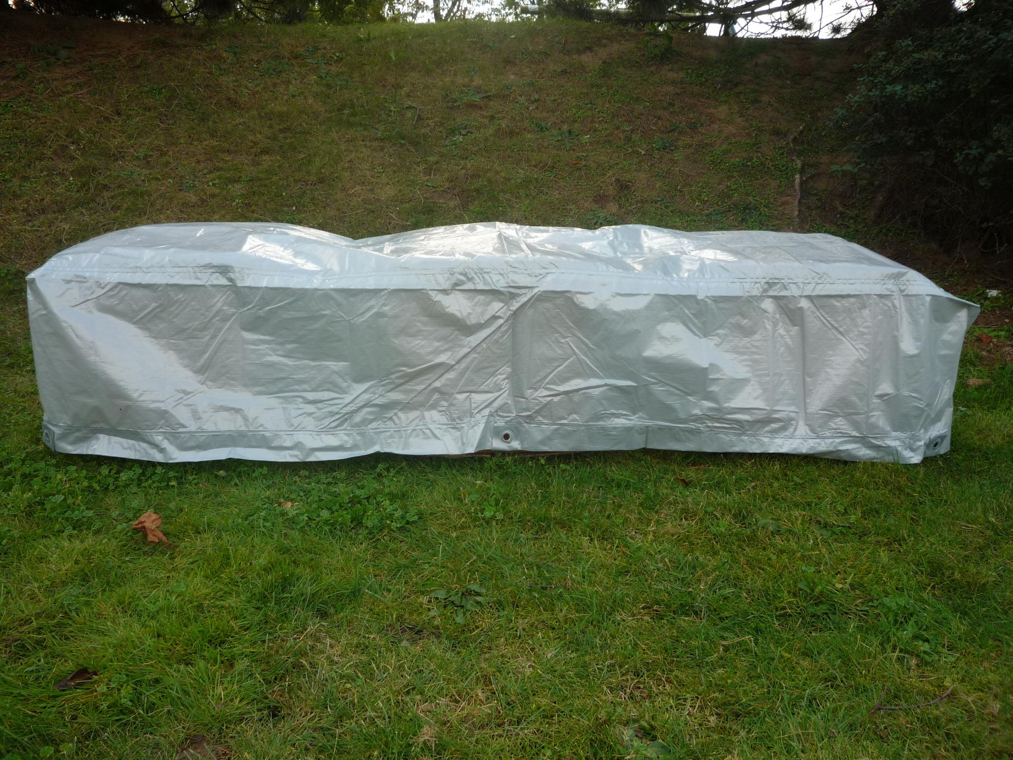 Titanium:la Maison Du Jardin Housse De Protection Renforcée ... intérieur Bache De Protection Salon De Jardin