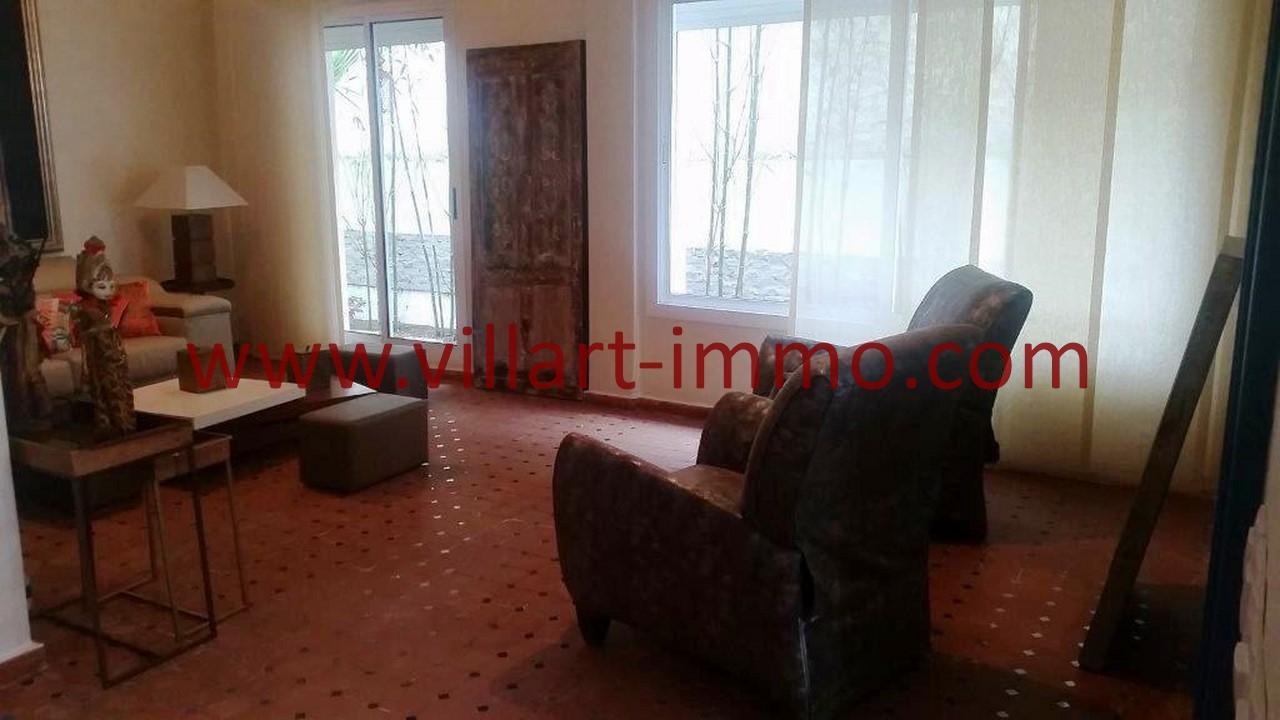 To Let In Tangier Furnished Villa Close To School And ... à Salon De Jardin California