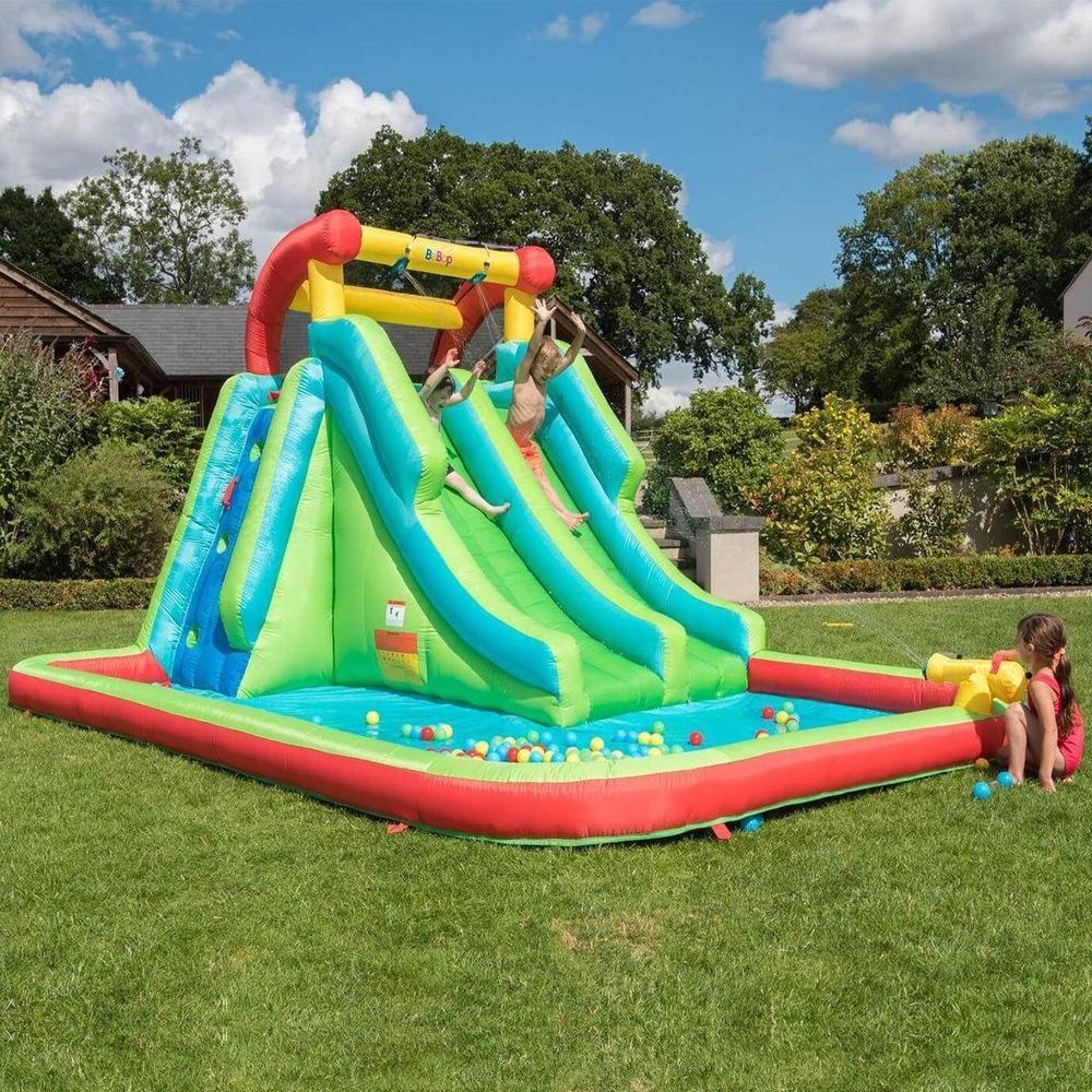 Toboggan De Jardin Garden Water Slide Jeux D'eau Et De Plage ... destiné Jeux D Eau Jardin
