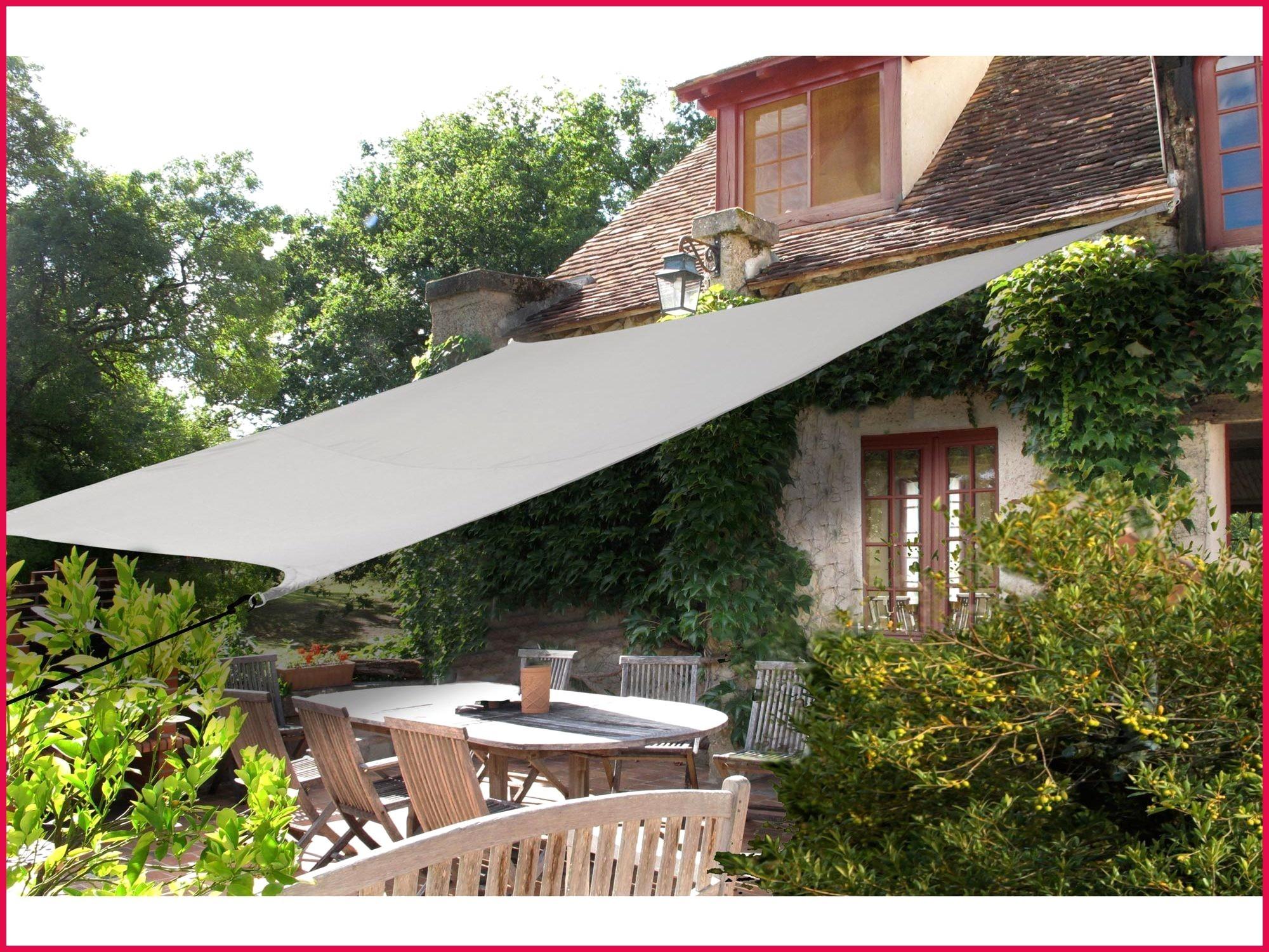 Toile Jardin Triangle Voileombrage Ikea Beau Voile Ombrage ... destiné Toile Triangle Jardin