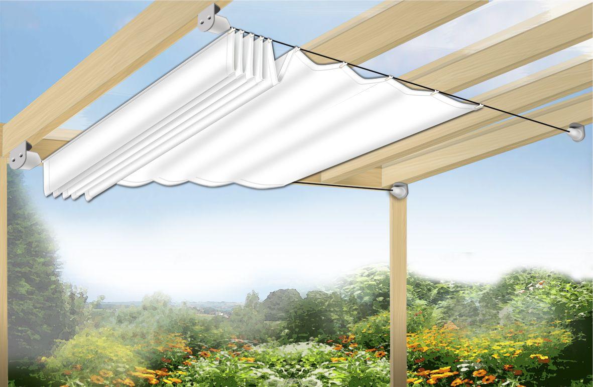 Toiles Tendues De Jardin - Recherche Google | Toile Terrasse ... dedans Toile Tendue Jardin