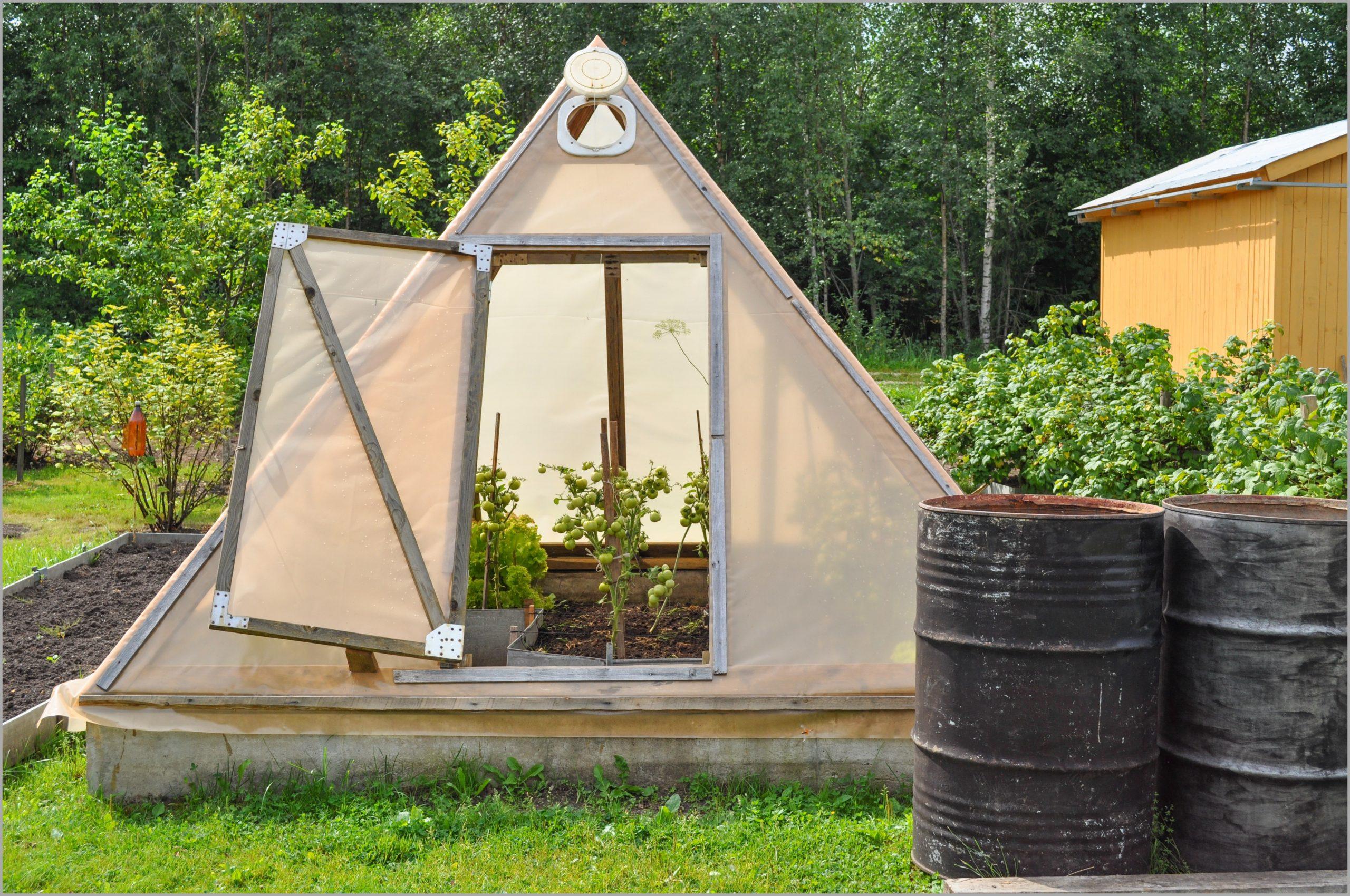 Tomates Une Serre Toute Simple Intéressant Fabriquer Petite ... pour Serre De Jardin Leroy Merlin