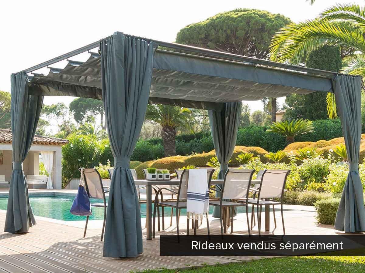 Tonnelle De Jardin Palmeira - pour Tonnelle De Jardin En Bois