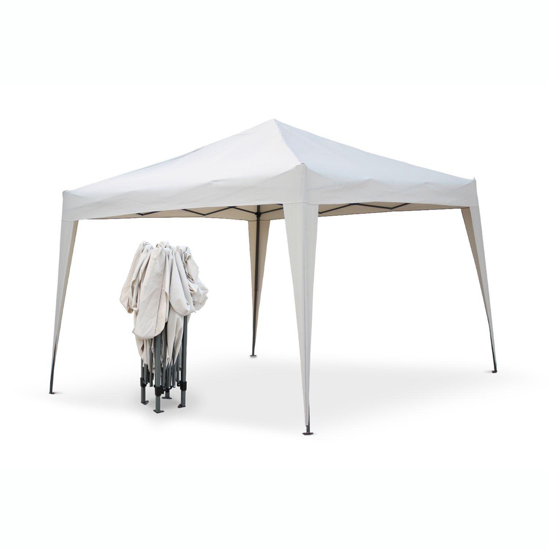 Tonnelle Pliante Tecto Sable 3X3, Tente De Jardin Pop Up ... encequiconcerne Tente De Jardin Pas Cher