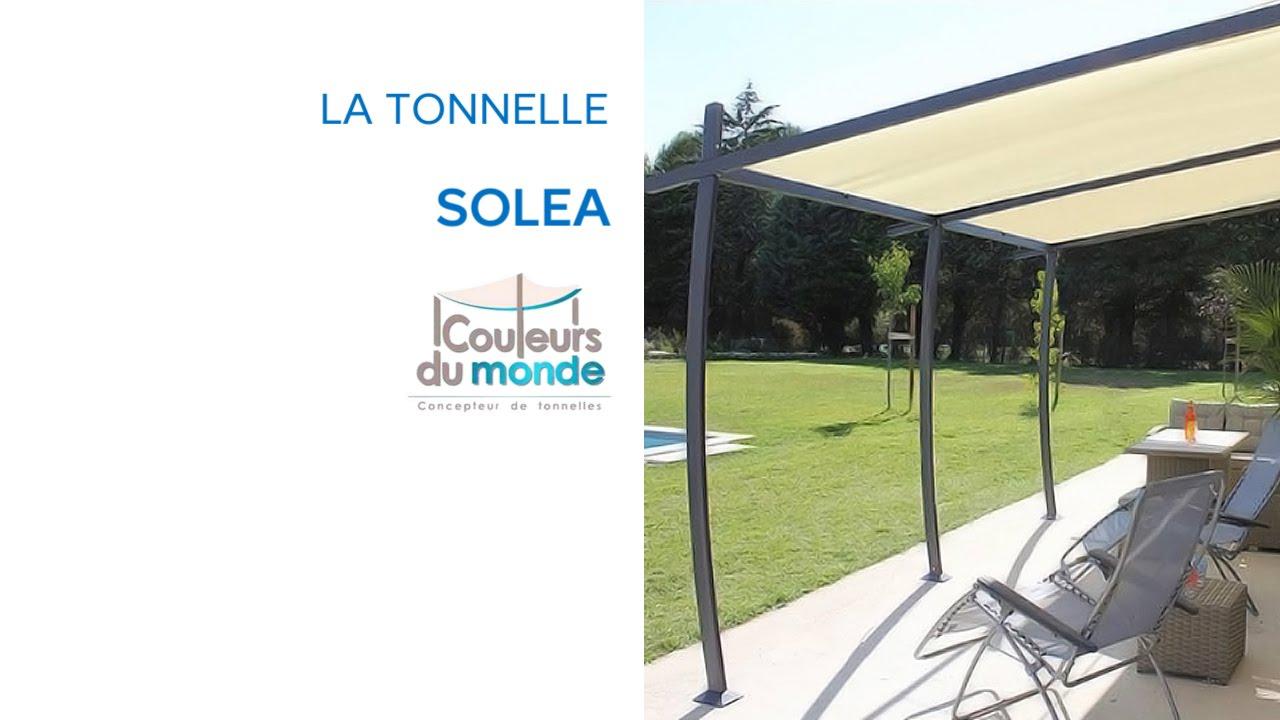 Tonnelle Solea Castorama à Pergola Castorama Jardin