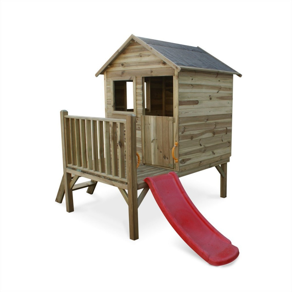 Top 13 => Meilleure Cabane & Maisonnette En Bois Pour Enfant ... concernant Cabane De Jardin Enfant Bois