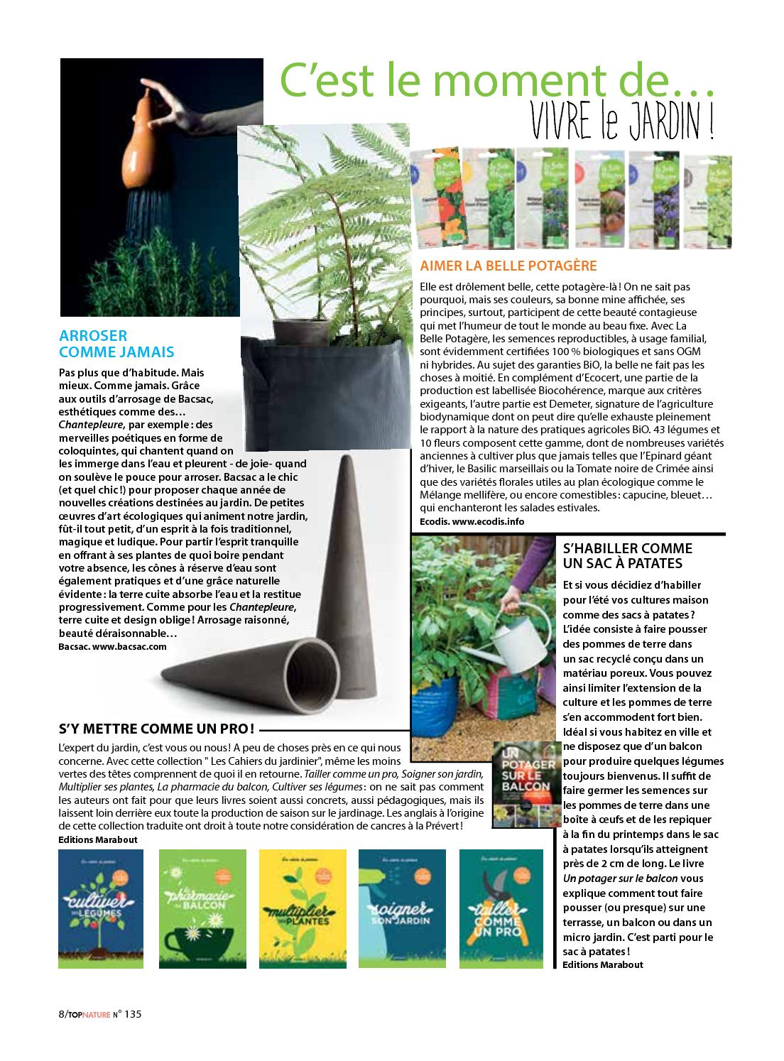 Top Nature 135 - Calameo Downloader à Idee De Plantation Pour Jardin