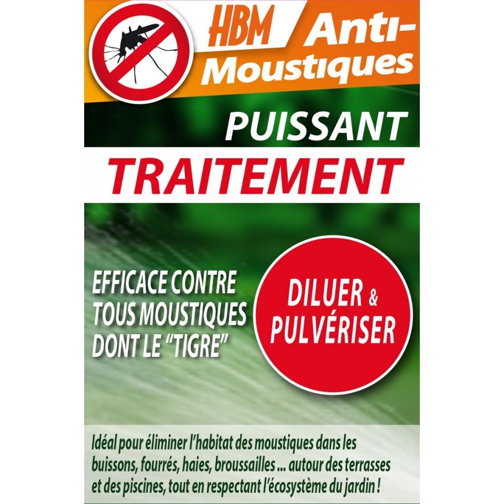 Traitement Anti-Moustiques 100 Ml (15 Ml Offerts) intérieur Traitement Moustique Jardin