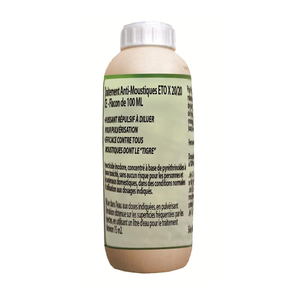 Traitement Anti-Moustiques 100 Ml (15 Ml Offerts) serapportantà Insecticide Moustique Jardin