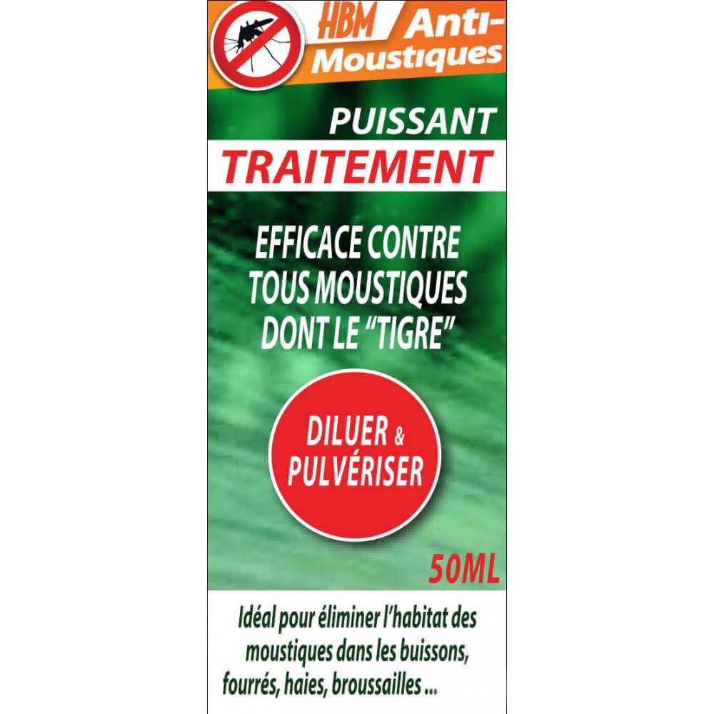 Traitement Pulvérisation Anti-Moustiques - 50 Ml ... pour Produit Anti Tique Pour Jardin
