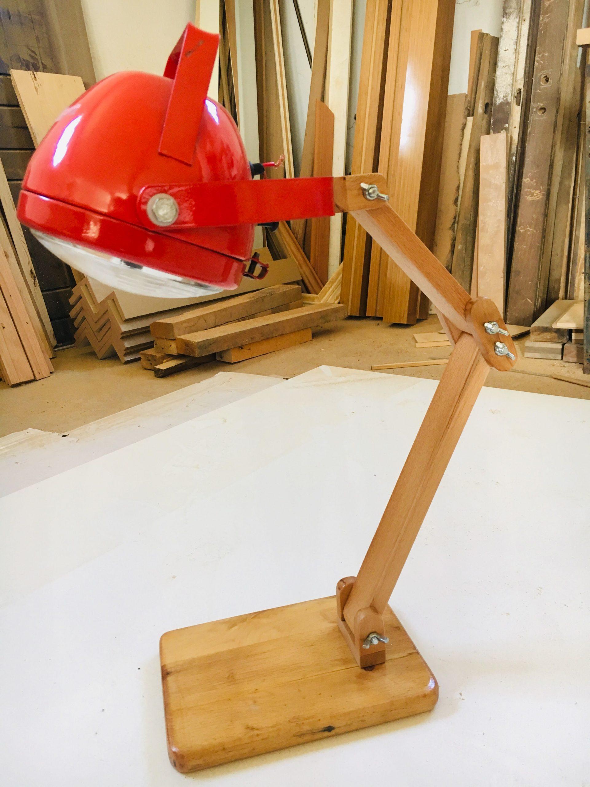 Traktör Farı Masa Lambası | Masa Lambasi, Ahşap Işçiliği pour Bache Pour Salon De Jardin