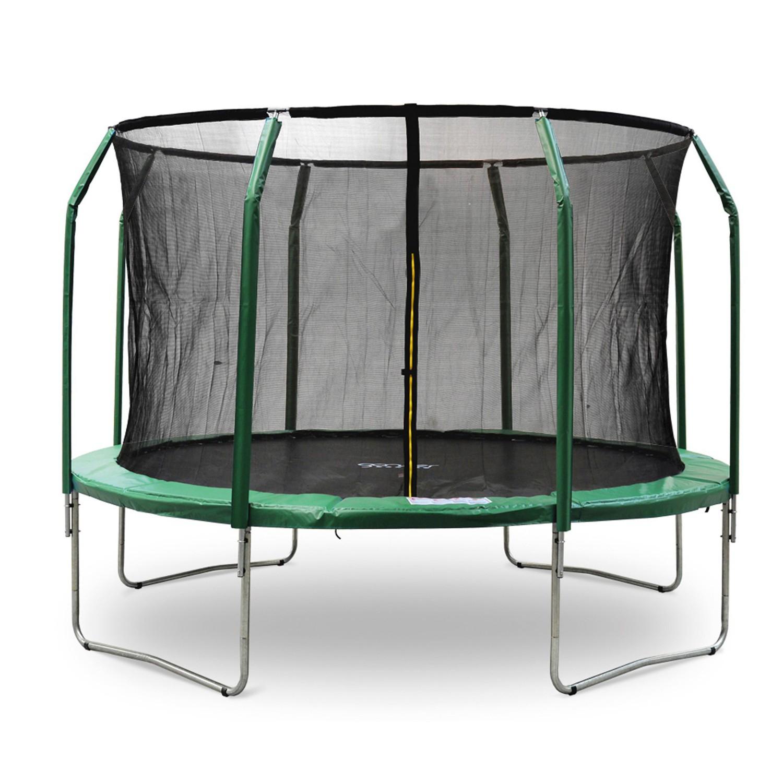 Trampoline 4,0M À Bon Prix serapportantà Trampoline Habitat Et Jardin