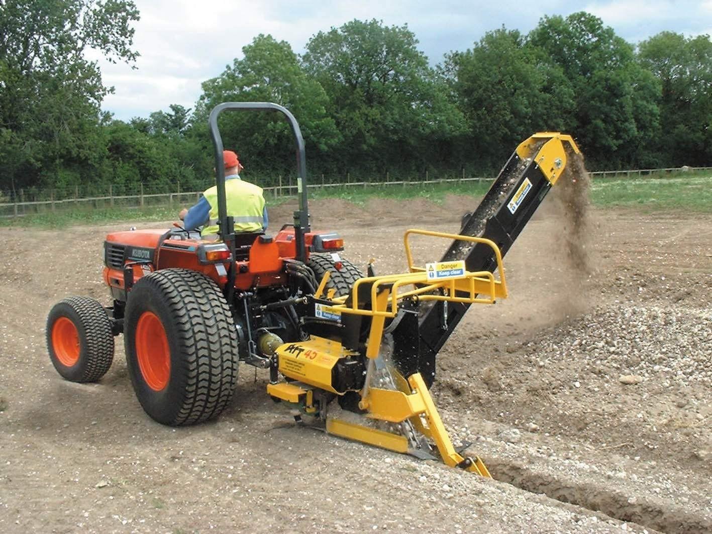 Trancheuse De Sol Pour Tracteur | Tracteur Tondeuse Occasion ... concernant Trancheuse Jardin