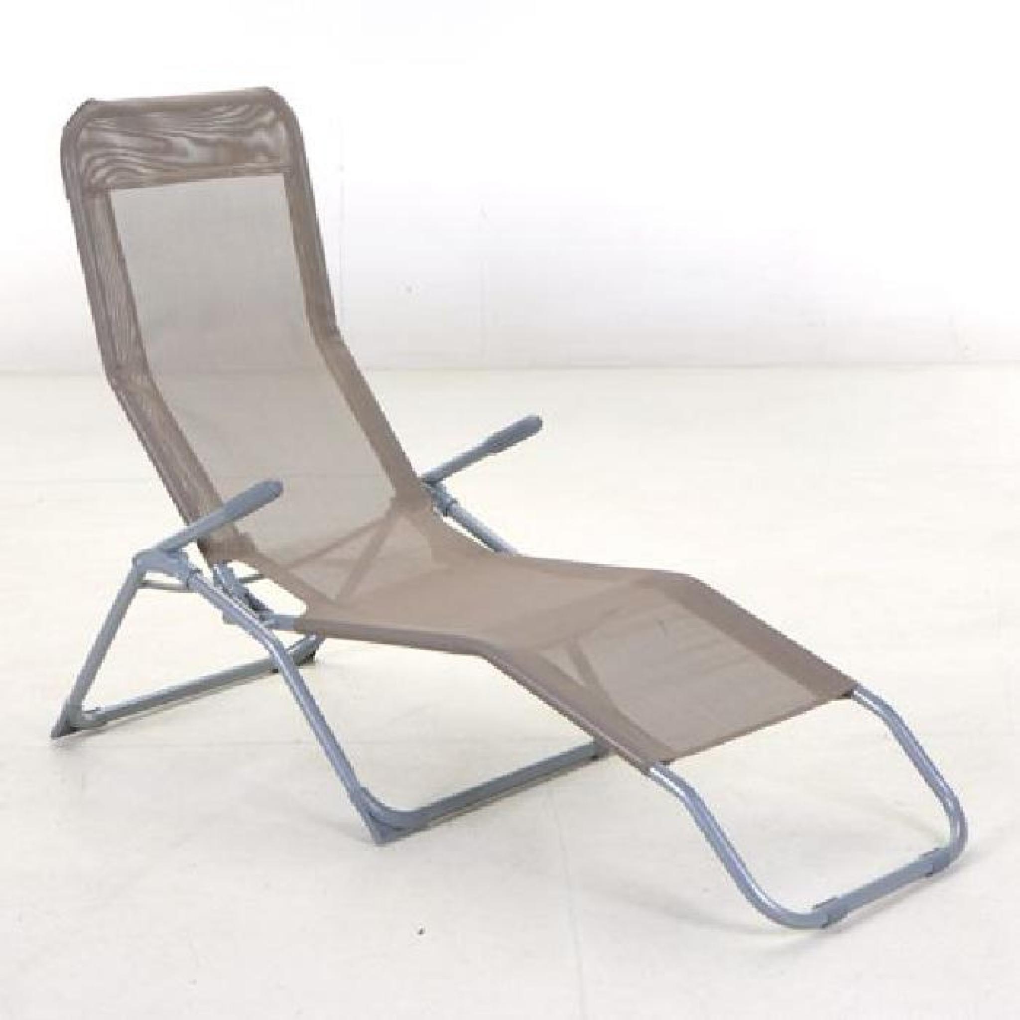 Transat / Chaise Longue Siesta - Vert dedans Chaise Longue De Jardin Pas Cher