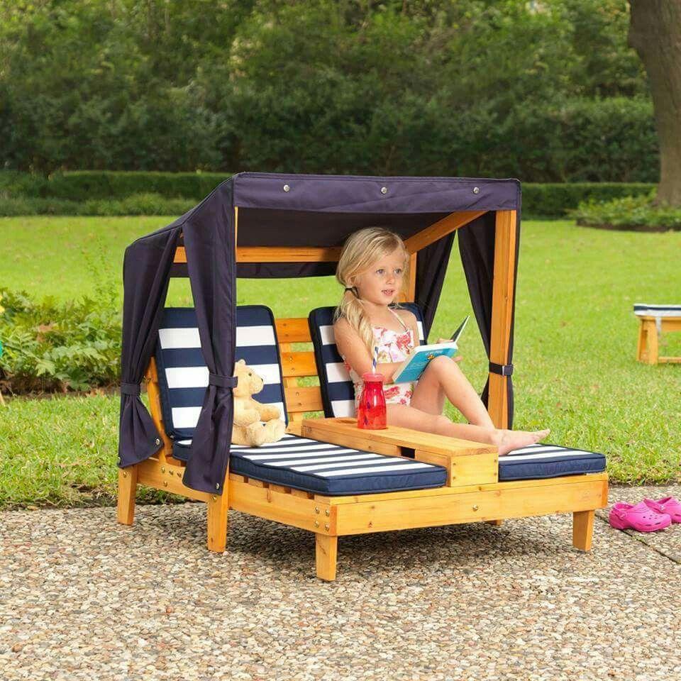 Transat Enfants | Mobilier Extérieur En Palettes, Transat ... avec Salon De Jardin Enfants