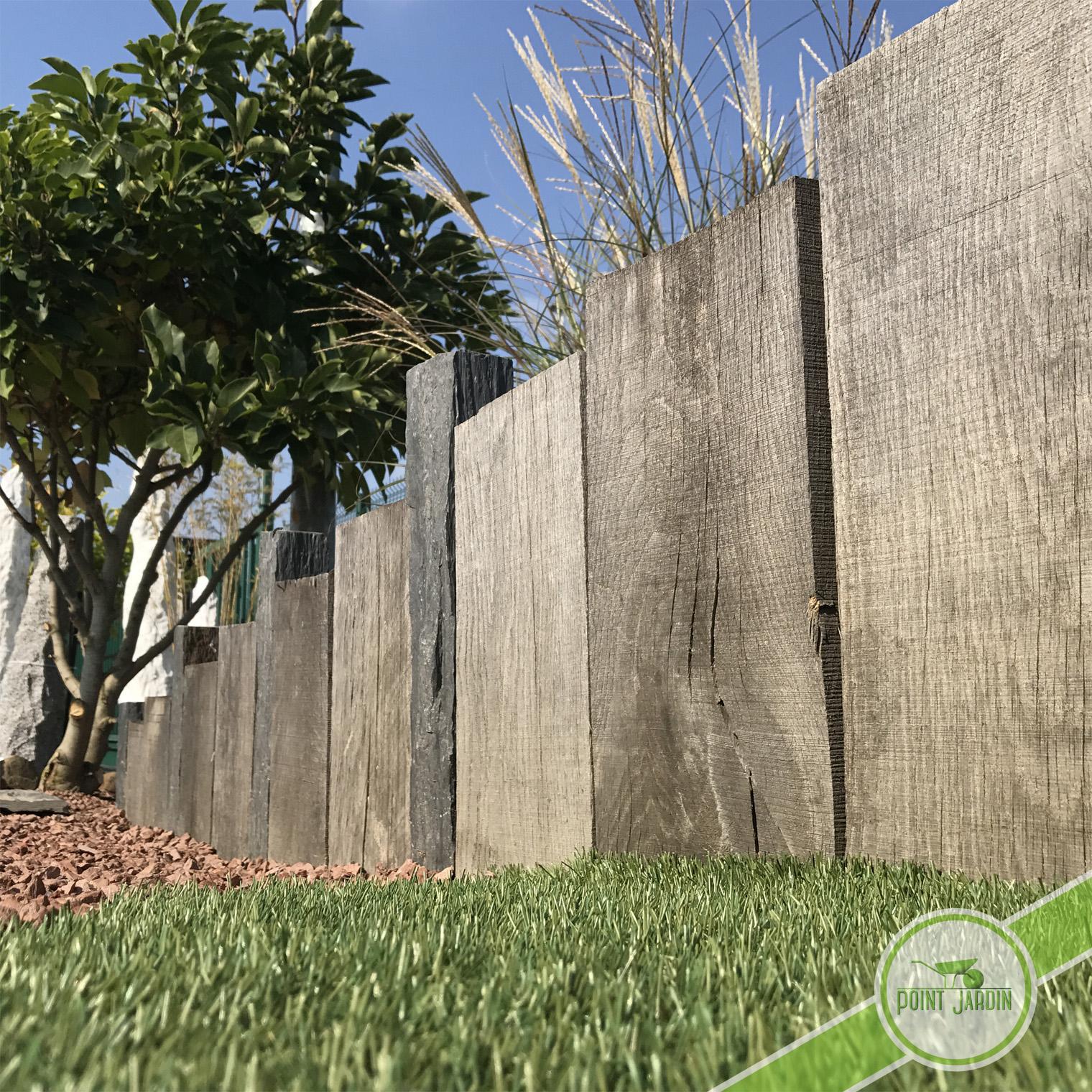 Traverse Chêne concernant Traverse Bois Pour Jardin