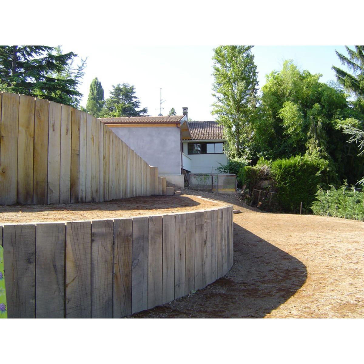 Traverse De Chemin De Fer Neuve (Dimensions 2600 X 260 X 150) concernant Traverses De Chemin De Fer Pour Jardin