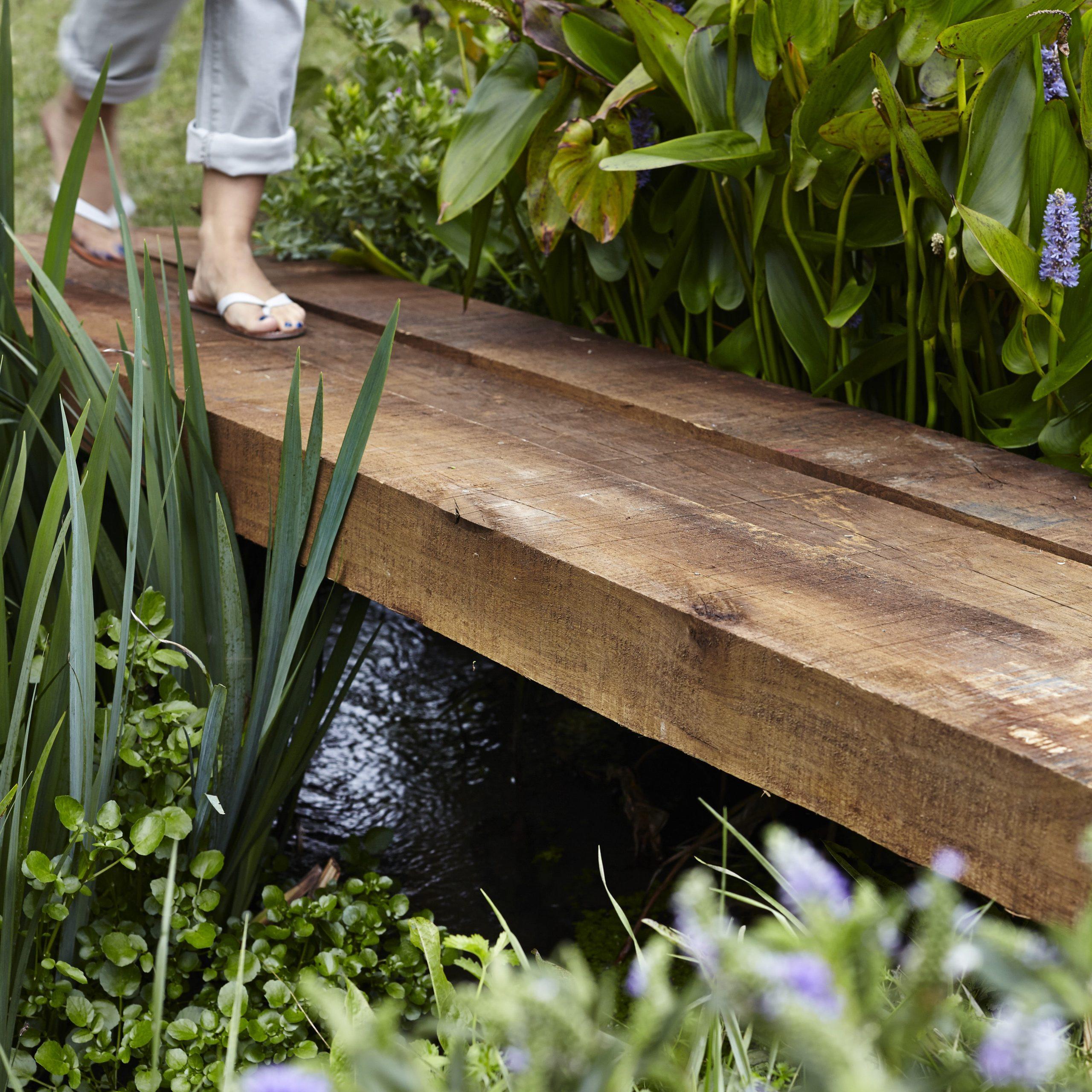 Traverse Droite Authentique Bois Marron, H.20 X L.260 Cm destiné Traverse Bois Pour Jardin