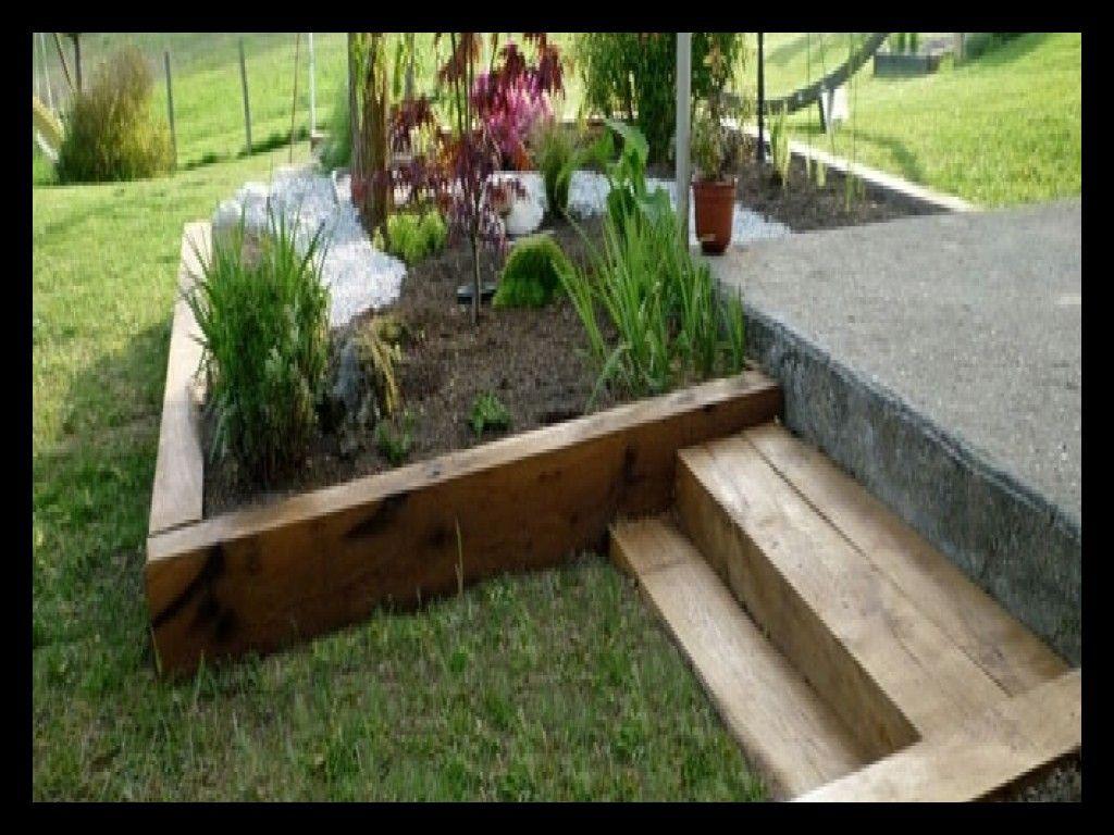Traverses De Chemin De Fer Pour Jardin 56763 Est Une ... avec Traverses De Chemin De Fer Pour Jardin