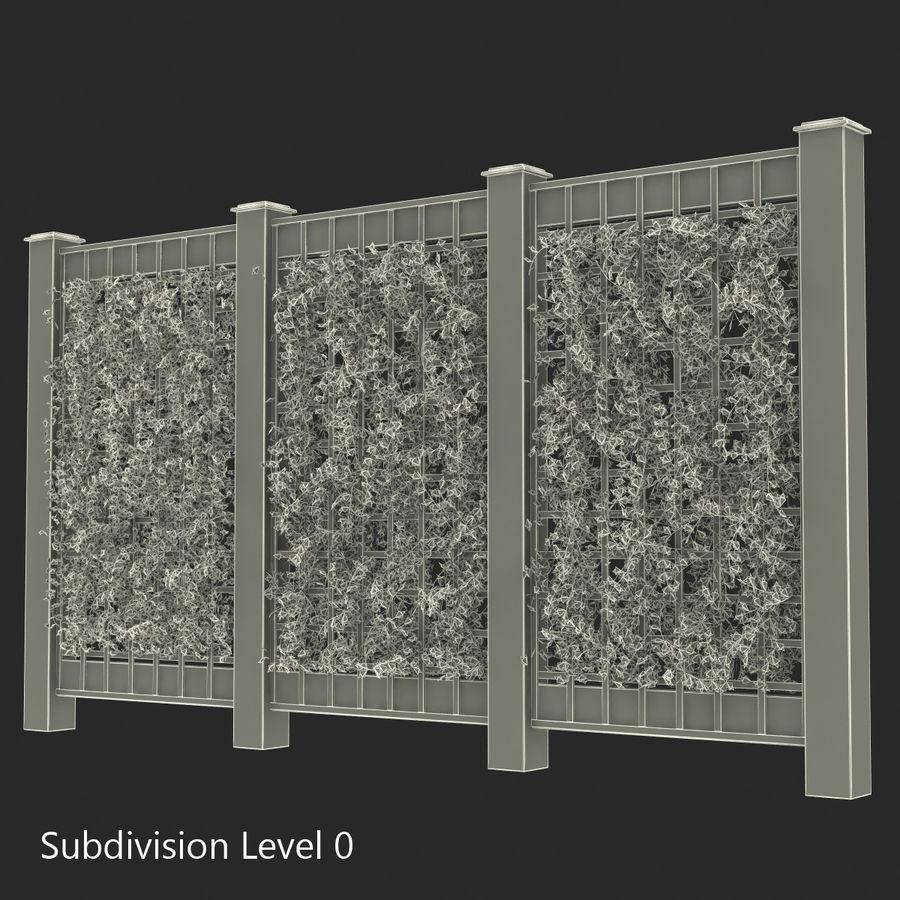 Treillis De Jardin 2 Modèle 3D $29 - .max .obj .ma .fbx .c4D ... destiné Treillis Metal Jardin