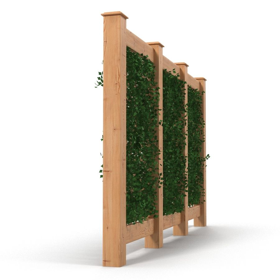 Treillis De Jardin 2 Modèle 3D $29 - .max .obj .ma .fbx .c4D ... serapportantà Treillis Metal Jardin