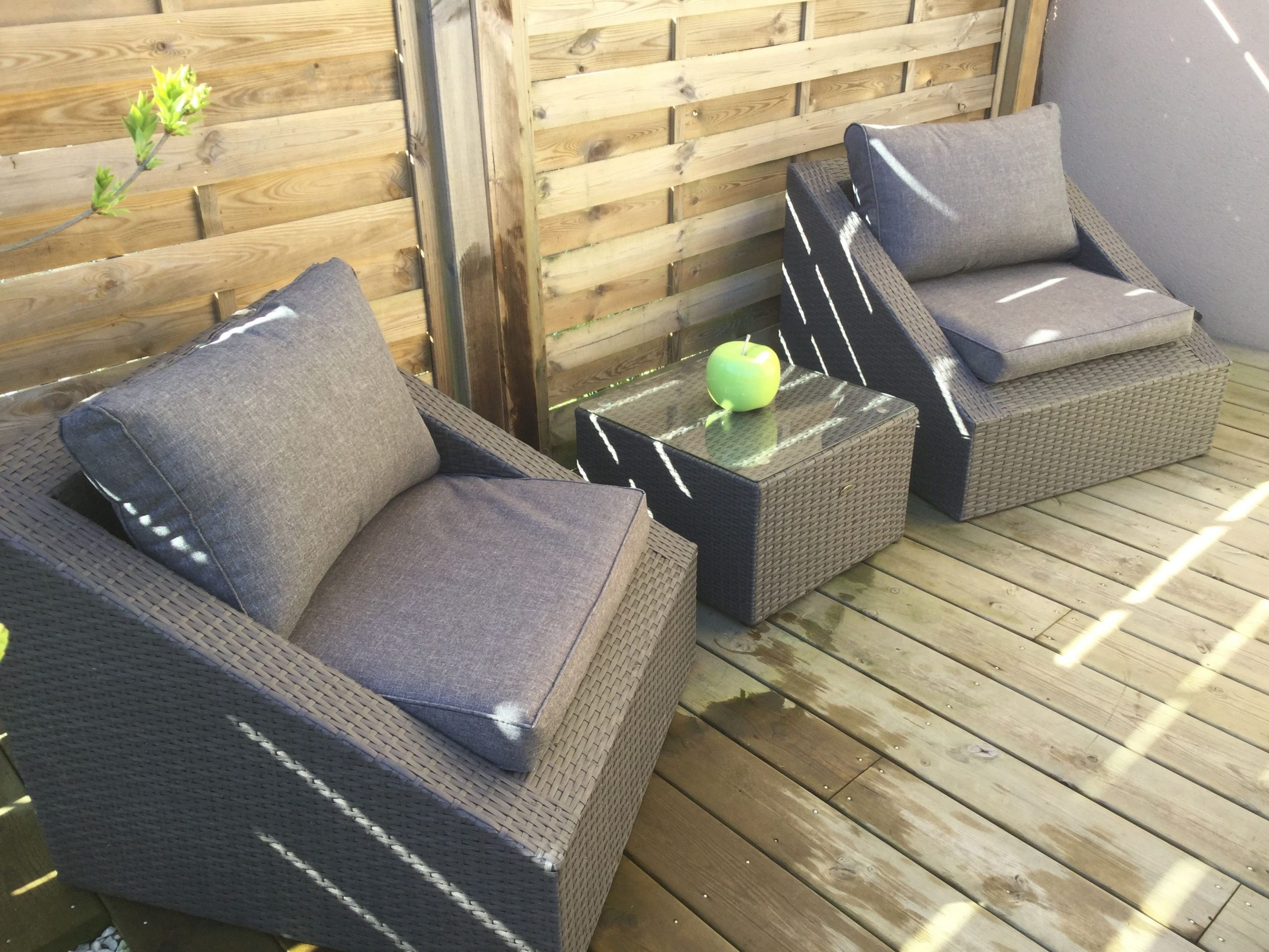 Triangolo | Outdoor Furniture Sets, Indoor Garden, Outdoor Decor à Salon De Jardin Confortable