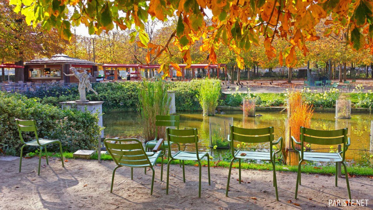 Tuileries Bahçesi - Jardin Des Tuileries - Pariste serapportantà Bache Verte Jardin