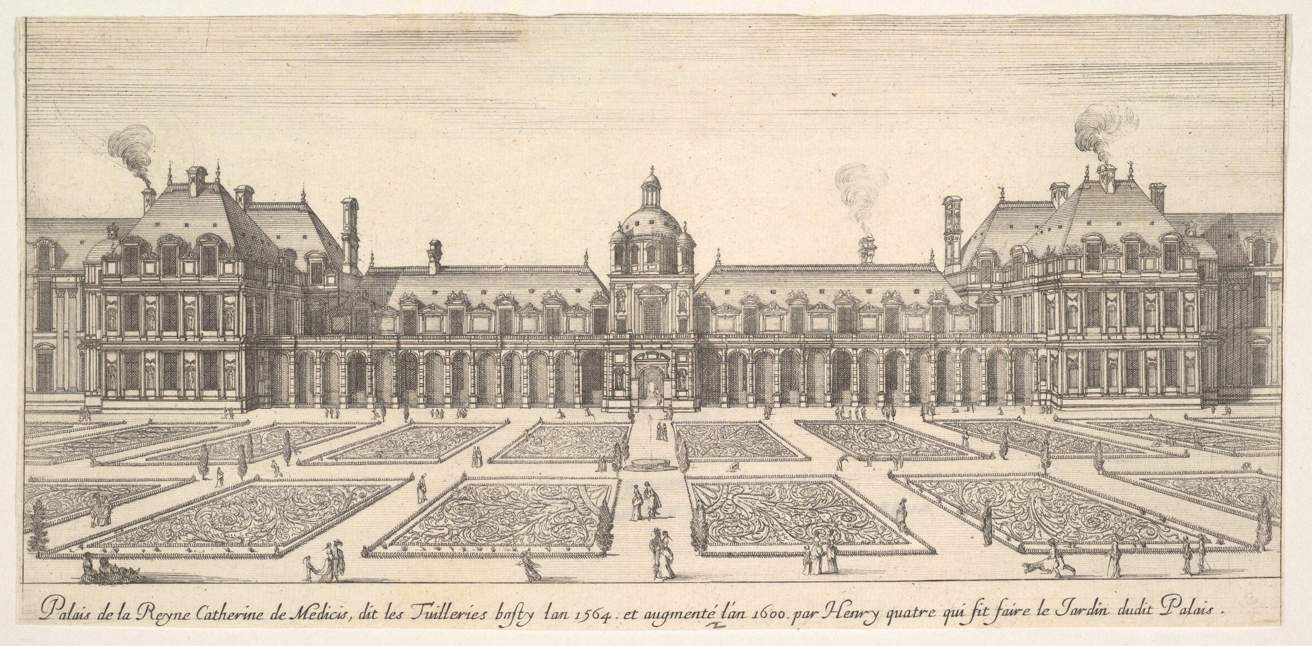 Tuileries Palace - Wikiwand à Salon De Jardin D Occasion