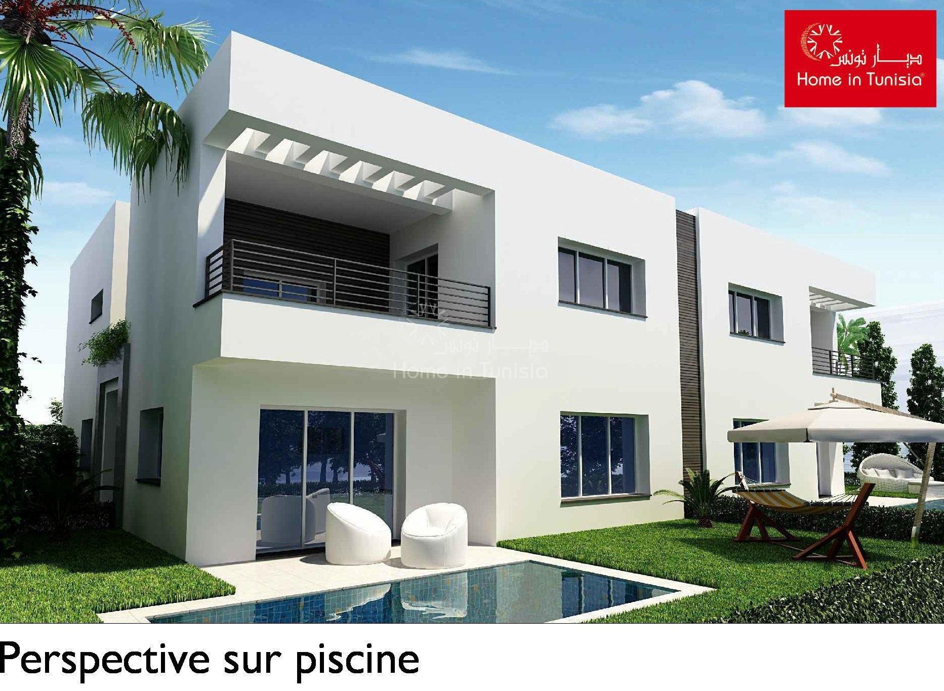 Tunis Bay Résidentiel Golf Villa Oceanos 34 Jumelée 3 ... encequiconcerne Abri De Jardin Tunisie