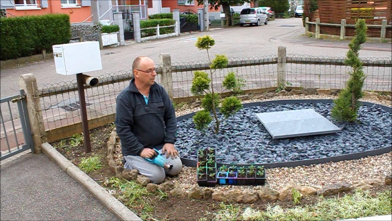 Tuto : Aménagement D'un Coin Zen Au Jardin (Partie 5) intérieur Decoration Minerale Jardin