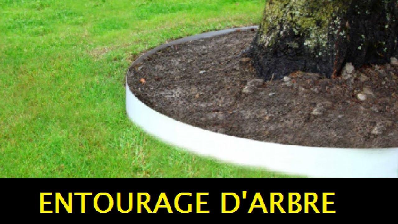 Tuto: Bordures Pvc Pour Entourage (Cerclage) D'arbre Jardin - Apanages dedans Bordure Jardin Pvc