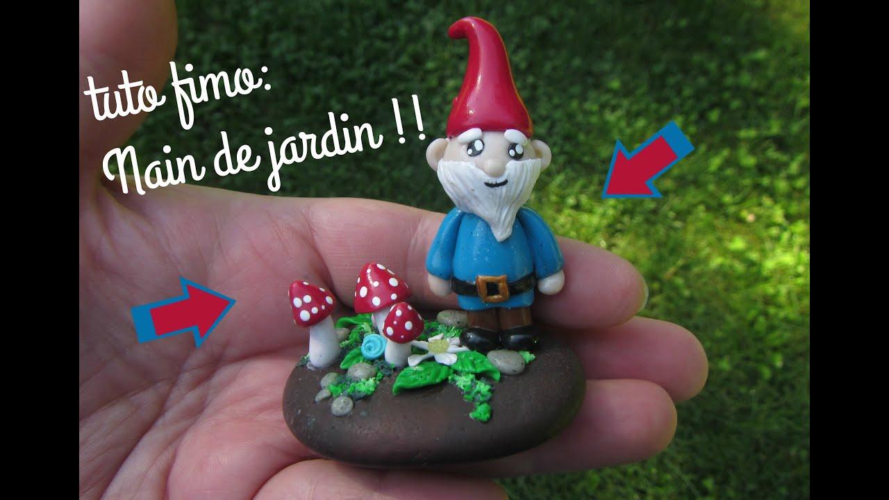 Tuto Fimo:nain De Jardin avec Nain De Jardin Design