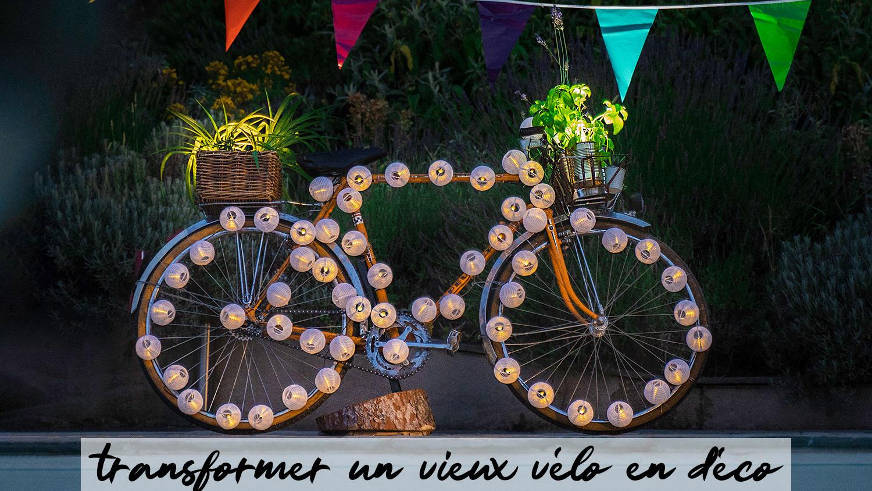 Tuto Upcycling : Fabriquer Un Vélo Déco Pour Son Jardin - Be ... à Velo Deco Jardin