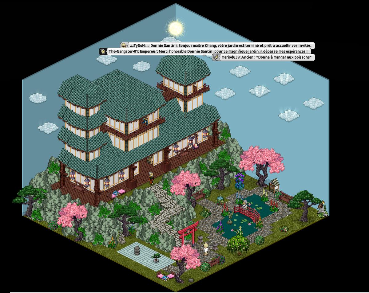 """Tyson 🌐 On Twitter: """"participation Au Concours Jardin ... concernant Modele De Jardin Japonais"""