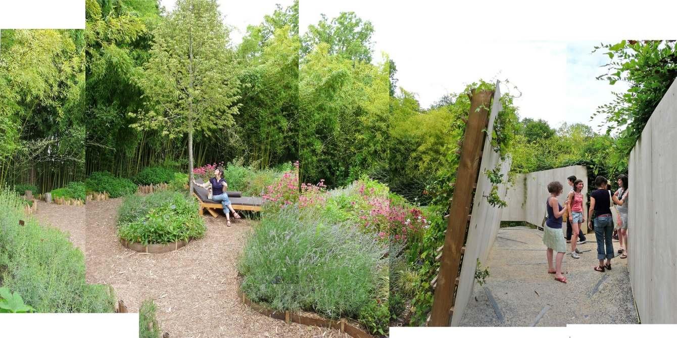 Un Divan Au Jardin - De Long En Large - Paysagistes Concepteurs pour Divan De Jardin