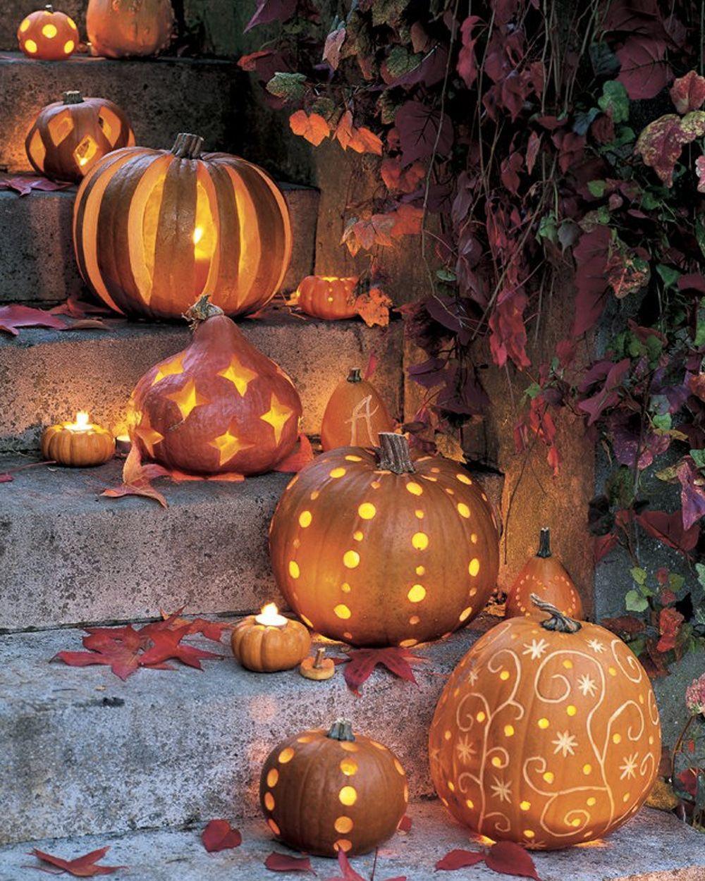 Un Jardin Décoré Pour Halloween #pumpkindecorating Deco ... pour Deco Jardin Halloween
