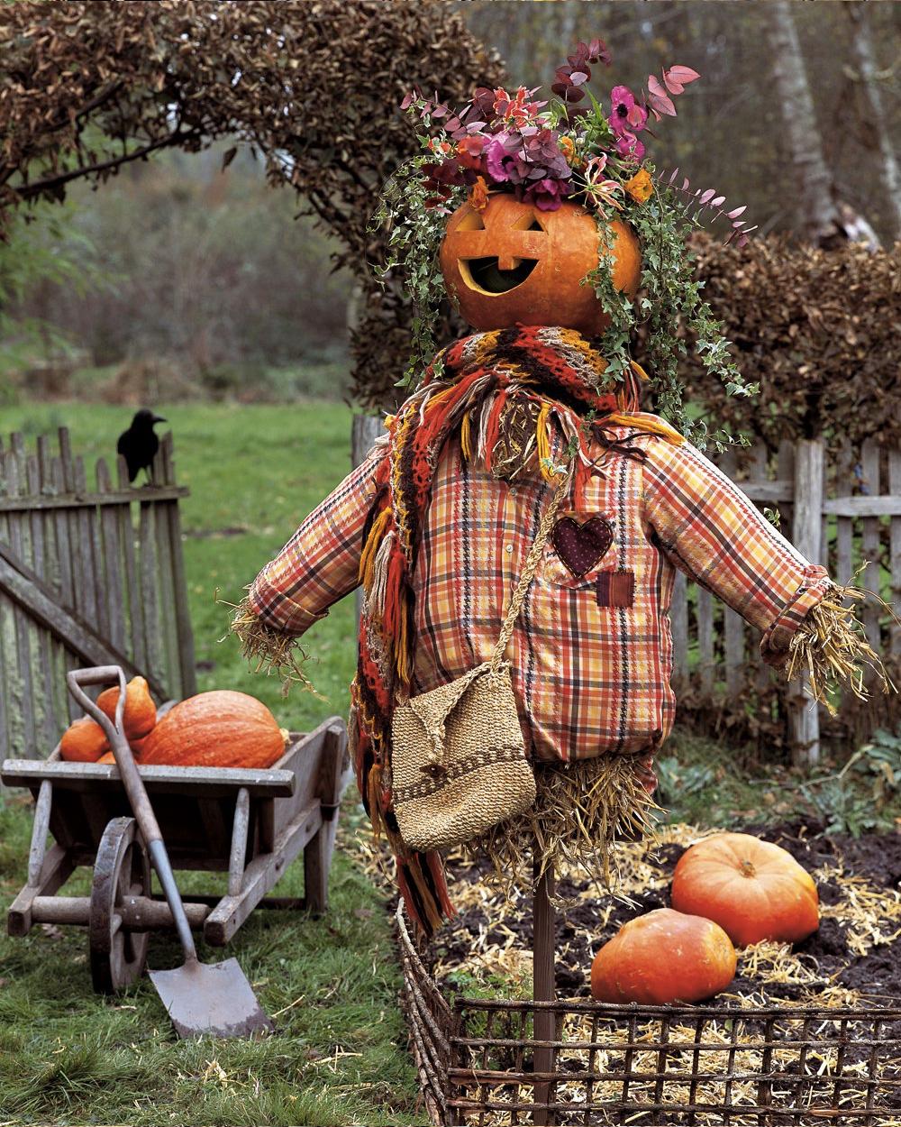 Un Jardin Décoré Pour Halloween | Shake My Blog intérieur Deco Jardin Halloween