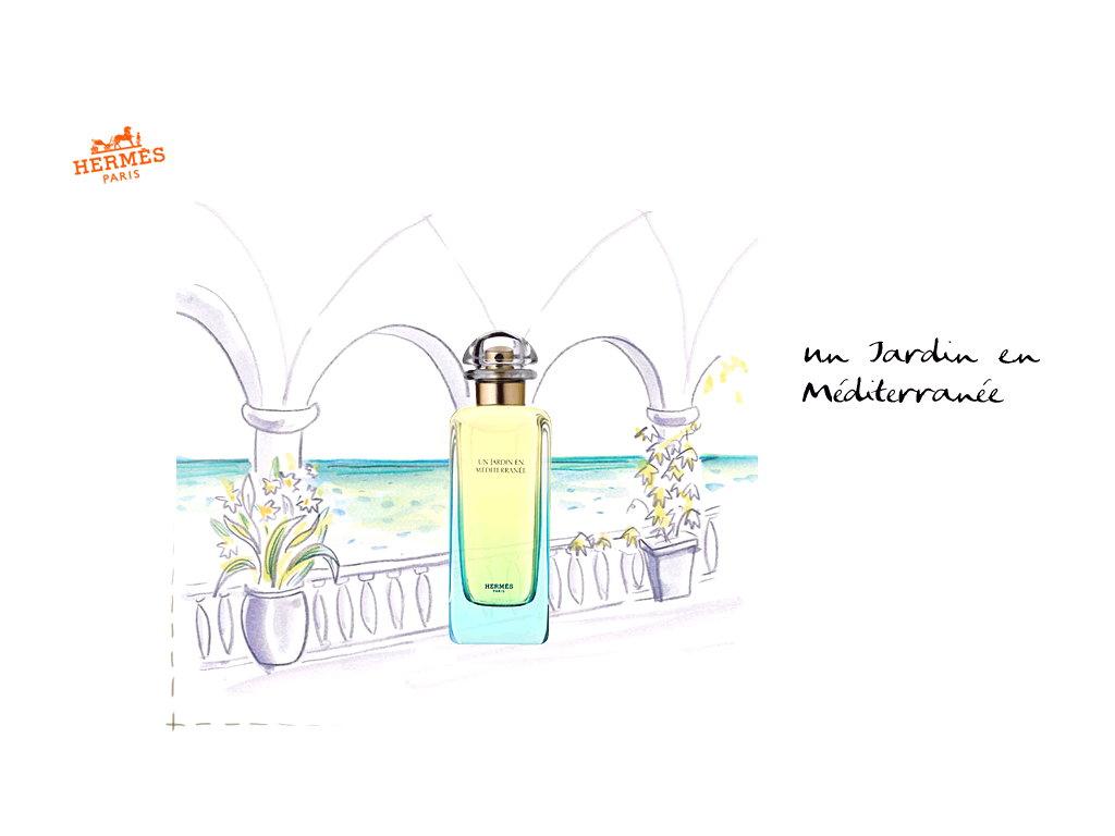 Un Jardin En Mediterranee Perfume By Hermes < Brands ... avec Un Jardin En Méditerranée